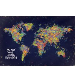 World Map - Colour your world beautiful