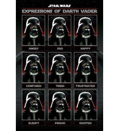 Star Wars - Expressions of Darth Vader