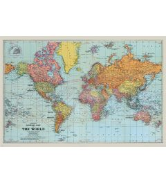 Stanfords General Map Of The World