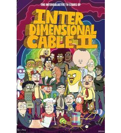 Rick and Morty Stars of Interdimensional Cable
