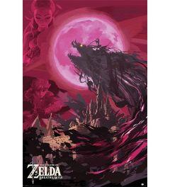 The Legend Of Zelda: Breath Of The Wild Ganon Blood Moon Poster 61x91.5cm