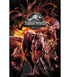 Jurassic World Fallen Kingdom Dinosaurs Montage
