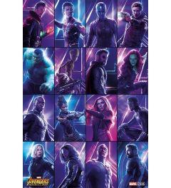 Avengers Infinity War Poster Heroes 61x91.5cm