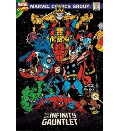 Marvel Retro Poster The Infinity Gauntlet 61x91.5cm