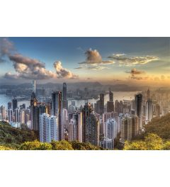 Hong Kong Victoria Peak Poster 61x91.5cm