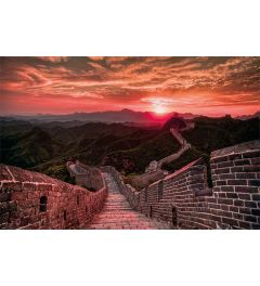 The Great Wall Of China Sunset Poster 61x91.5cm