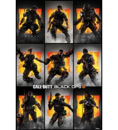 Call Of Duty Black Ops 4 Characters Poster 61x91.5cm