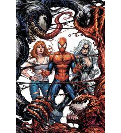Venom Venom and Carnage fight Poster 61x91.5cm