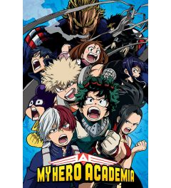My Hero Academia Cobalt Blast Group Poster 61x91.5cm