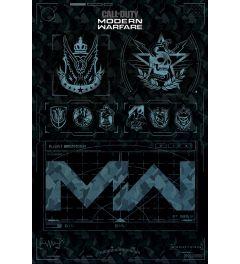 Call Of Duty Modern Warfare Fractions Poster 61x91.5cm