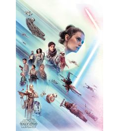 Star Wars The Rise of Skywalker Rey Poster 61x91.5cm