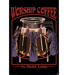 Steven Rhodes Worship Coffee Poster 61x91.5cm