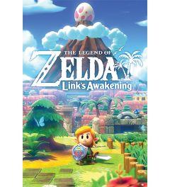 The Legend Of Zelda Links Awakening Poster 61x91.5cm