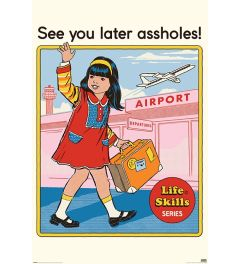 Steven Rhodes See You Later Poster 61x91.5cm