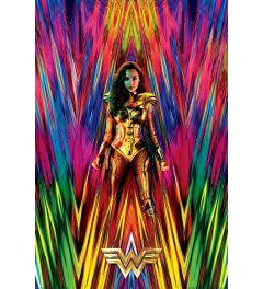 Wonder Woman 1984 Neon Static Poster 61x91.5cm