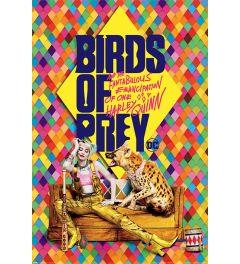 Birds Of Prey Harley's Hyena Poster 61x91.5cm