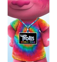 Trolls World Tour Backstage Pass Poster 61x91.5cm