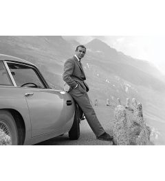 James Bond Connery & Aston Martin Poster 61x91.5cm