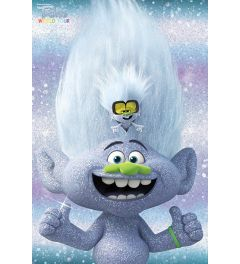 Trolls World Tour Guy Diamond and Tiny Poster 61x91.5cm