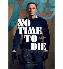 James Bond No Time To Die James Stance Poster 61x91.5cm