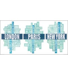 London, Paris and New York