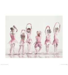 Ballet Fifth position Art Print Aimee Del Valle 40x50cm