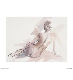 Ballet Saturday Art Print Aimee Del Valle 40x50cm