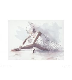 Ballet The beginning Art Print Aimee Del Valle 30x40cm