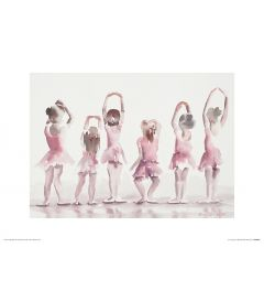 Ballet Fifth position Art Print Aimee Del Valle 30x40cm