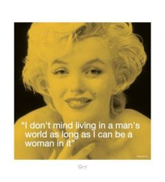 Marilyn Monroe - I.Quote - Man's World