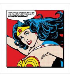 Wonder Woman - Of all people