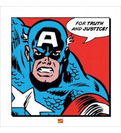 Captain America - For Truth and Justice