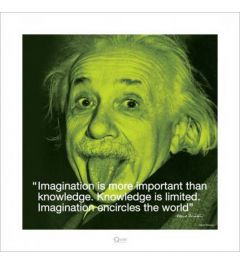 Albert Einstein - I quote - Imagination