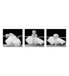 Marilyn Monroe - Ballerina Triptych