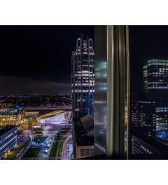 Rotterdam By Night Art Print