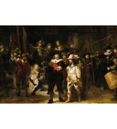 The Night Watch by Rembrandt van Rijn Poster 61x91.5cm