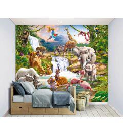 Safari 12-part Wall Mural 305x244cm