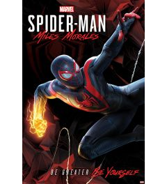 Spider-Man Miles Morales Cybernetc Swing Poster 61x91.5cm