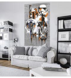 Star Wars Celebrate The Galaxy 1-part Wall Mural 120x200cm