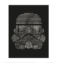 Star Wars Imperial Stormtrooper Art Print 40x50cm