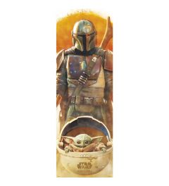 Star Wars The Mandalorian Poster 53x158cm
