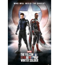 The Falcon and the Winter Soldier Wield The Shield Poster 61x91.5cm