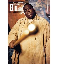 The Notorious B.I.G. Cane Poster 61x91.5cm