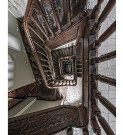 Urbex Staircase Art Print