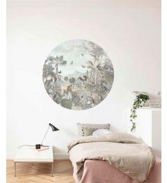Utopia Self-adhesive Wallpaper Circle ⌀125cm
