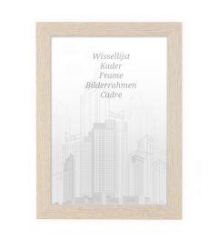 Frame 70x90cm Light Oak - Wood