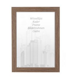 Frame 70x70cm Walnut - Wood