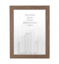 Frame 70x90cm Walnut - Wood