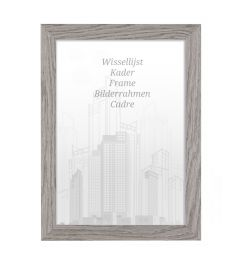 Frame 18x24cm Rock Grey - Wood