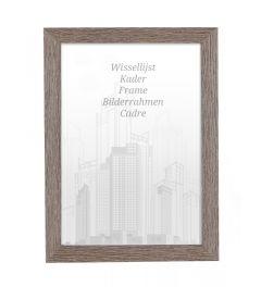 Frame 70x70cm Licorice - Wood